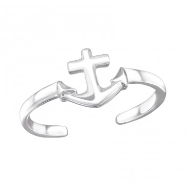 Anchor - 925 Sterling Silver Toe Rings A4S26198