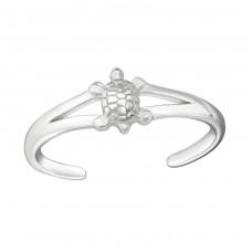 Turtle - 925 Sterling Silver Toe Rings A4S26215