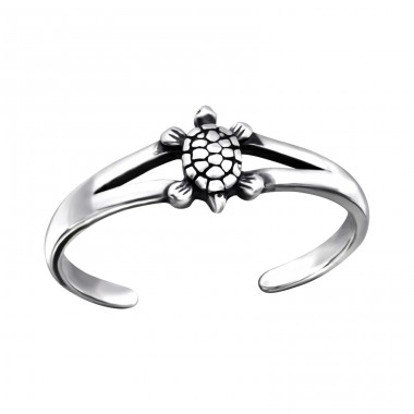 Turtle - 925 Sterling Silver Toe Rings A4S27173