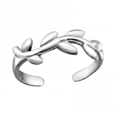 Vine - 925 Sterling Silver Toe Rings A4S27177