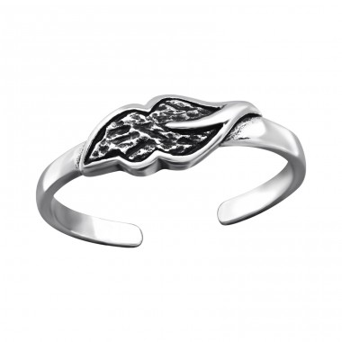 Leaf - 925 Sterling Silver Toe Rings A4S27179