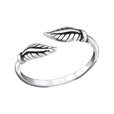 Leaf - 925 Sterling Silver Toe Rings A4S27622