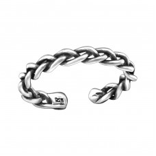 Chain - 925 Sterling Silver Toe Rings A4S29392