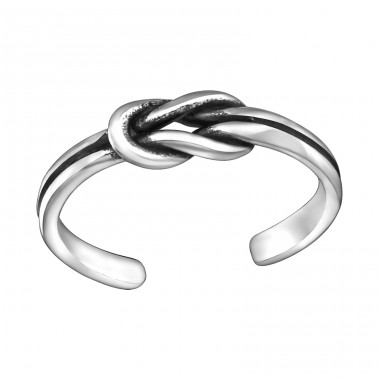 Knot - 925 Sterling Silver Toe Rings A4S29394