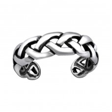 Chain - 925 Sterling Silver Toe Rings A4S29396