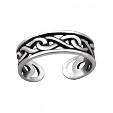 Chain - 925 Sterling Silver Toe Rings A4S29398