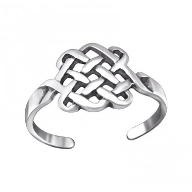 Basket - 925 Sterling Silver Toe Rings A4S29404