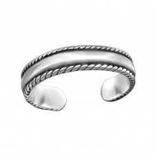 Band - 925 Sterling Silver Toe Rings A4S29411
