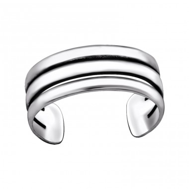 Line - 925 Sterling Silver Toe Rings A4S29419