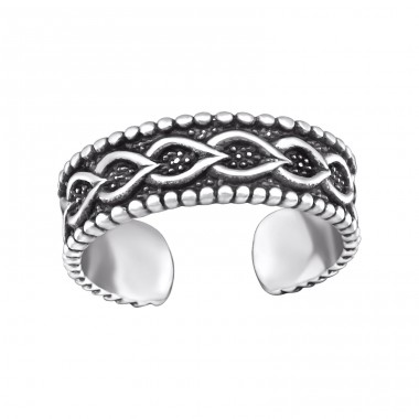Chain - 925 Sterling Silver Toe Rings A4S29426