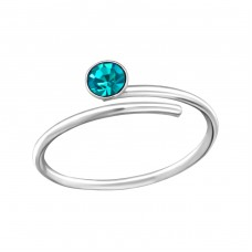 Wire - 925 Sterling Silver Toe Rings A4S33422