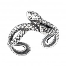 Snake - 925 Sterling Silver Toe Rings A4S33835