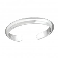 2mm Band - 925 Sterling Silver Toe Rings A4S37281