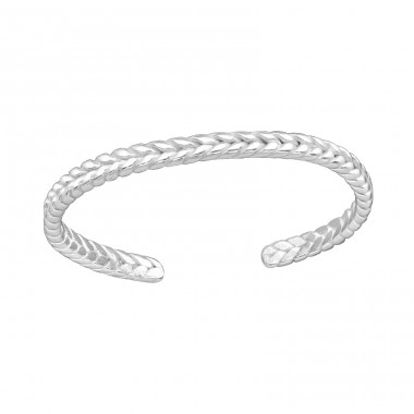 Braid - 925 Sterling Silver Toe Rings A4S38064