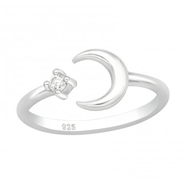 Moon - 925 Sterling Silver Toe Rings A4S40261