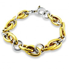Chain - 316L Surgical Grade Stainless Steel Steel Bracelets for Men A4S4323