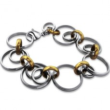 Rings - 316L Surgical Grade Stainless Steel Steel Bracelets for Women A4S9363