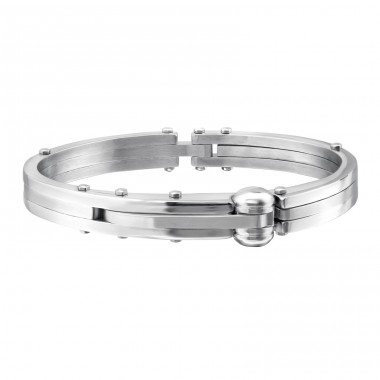 Cuff - 316L Surgical Grade Stainless Steel Steel Bracelets for Men A4S1077