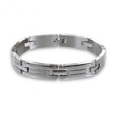 Bangle - 316L Surgical Grade Stainless Steel Steel Bracelets for Men A4S11629