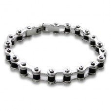 Bicycle Chain - 316L Surgical Grade Stainless Steel Steel Bracelets for Men A4S11727