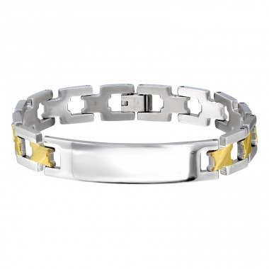 Chain - 316L Surgical Grade Stainless Steel Steel Bracelets for Men A4S12196