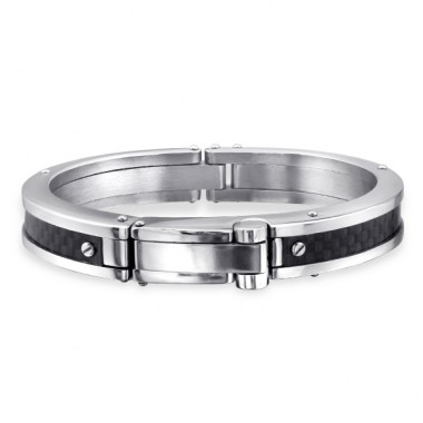 Bangle - 316L Surgical Grade Stainless Steel Steel Bracelets for Men A4S14369