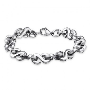 Chain - 316L Surgical Grade Stainless Steel Steel Bracelets for Men A4S1874