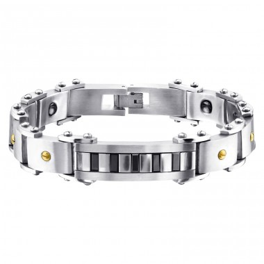 Chain - 316L Surgical Grade Stainless Steel Steel Bracelets for Men A4S1876