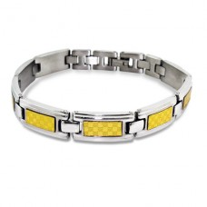 Tagged - 316L Surgical Grade Stainless Steel Steel Bracelets for Men A4S1877