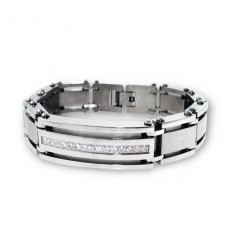 Tag - 316L Surgical Grade Stainless Steel Steel Bracelets for Men A4S1894