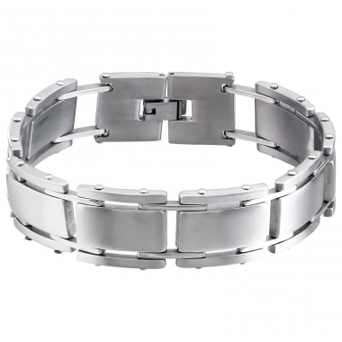 Tagged - 316L Surgical Grade Stainless Steel Steel Bracelets for Men A4S1900