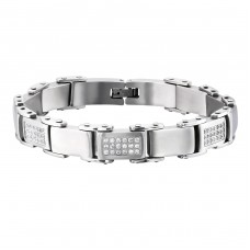 Tagged - 316L Surgical Grade Stainless Steel Steel Bracelets for Men A4S1901