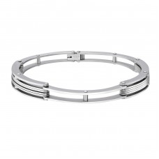 Chain Link - 316L Surgical Grade Stainless Steel Steel Bracelets for Men A4S2524