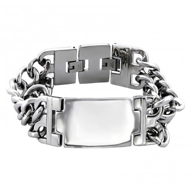 Huge Chain - 316L Surgical Grade Stainless Steel Steel Bracelets for Men A4S7201
