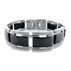 Chained Links - 316L Surgical Grade Stainless Steel Steel Bracelets for Men A4S7702