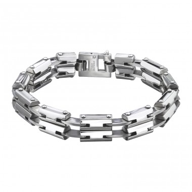 Dangerous - 316L Surgical Grade Stainless Steel Steel Bracelets for Men A4S8077