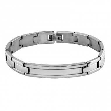 Handcuff - 316L Surgical Grade Stainless Steel Steel Bracelets for Men A4S8280