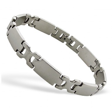 Handcuff - 316L Surgical Grade Stainless Steel Steel Bracelets for Men A4S8532
