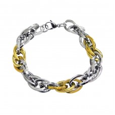 Chain - 316L Surgical Grade Stainless Steel Steel Bracelets for Men A4S9610