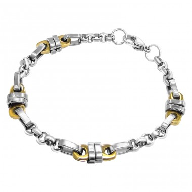 Chain - 316L Surgical Grade Stainless Steel Steel Bracelets for Men A4S9693