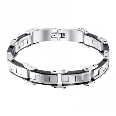 Handcuff - 316L Surgical Grade Stainless Steel Steel Bracelets for Men A4S9802