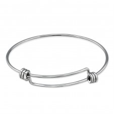 Charm - 316L Surgical Grade Stainless Steel Steel Bracelets for Women A4S31631