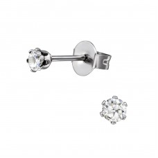 Tulip - 316L Surgical Grade Stainless Steel Steel Ear Studs A4S11384