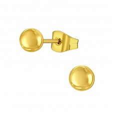 Tiny - 316L Surgical Grade Stainless Steel Steel Ear Studs A4S14134