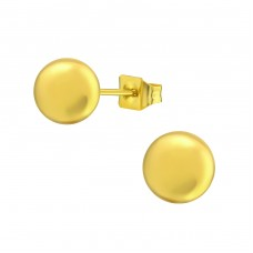 Ball - 316L Surgical Grade Stainless Steel Steel Ear Studs A4S14137