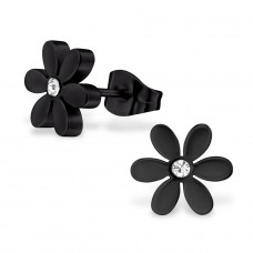 Flower - 316L Surgical Grade Stainless Steel Steel Ear Studs A4S28821
