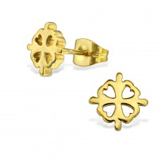 Flower - 316L Surgical Grade Stainless Steel Steel Ear Studs A4S28842
