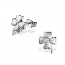 Flower - 316L Surgical Grade Stainless Steel Steel Ear Studs A4S29769
