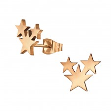Stars - 316L Surgical Grade Stainless Steel Steel Ear Studs A4S32372