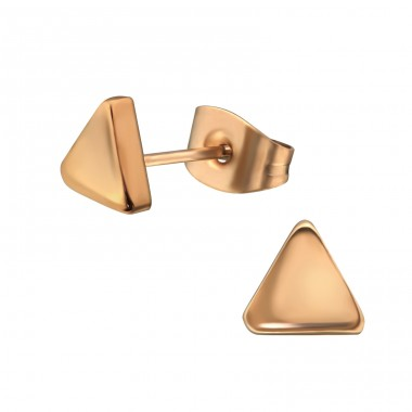 Triangle - 316L Surgical Grade Stainless Steel Steel Ear Studs A4S32374